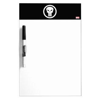 Punisher Skull Icon Dry Erase Board