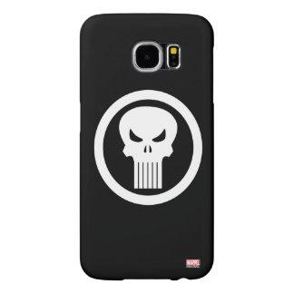Punisher Skull Icon Samsung Galaxy S6 Cases