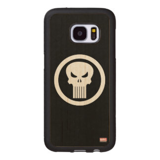 Punisher Skull Icon Wood Samsung Galaxy S7 Case
