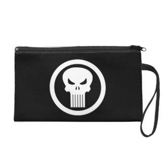 Punisher Skull Icon Wristlet