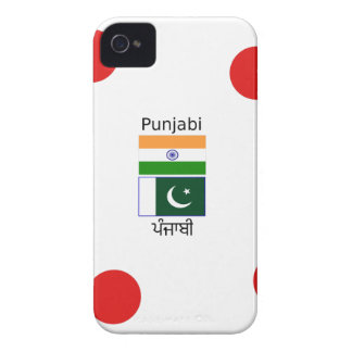 Punjabi Language With India And Pakistan Flags iPhone 4 Case-Mate Case