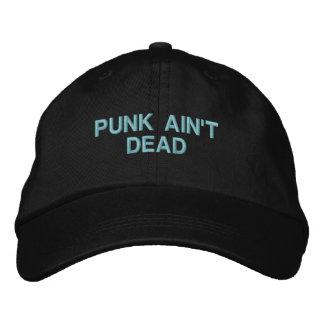 Punk Ain't Dead: Adjustable Cap (Black)