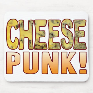 Punk Blue Cheese Mouse Pad