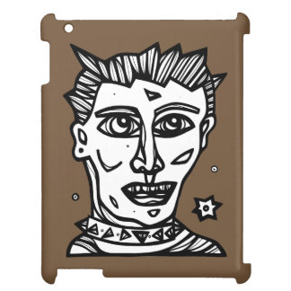 """""""Punk Face"""" iPad Case"""