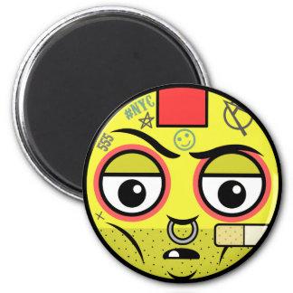 Punk Face Magnet