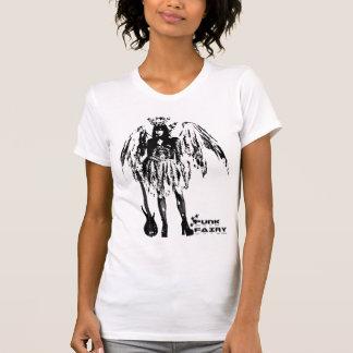 Punk Fairy band 80s style custom made white t-shir T-shirts