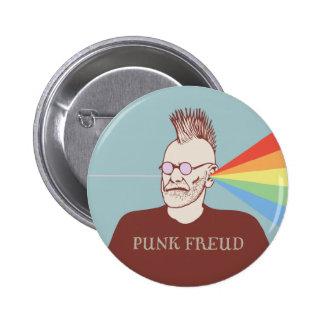 Punk Freud 6 Cm Round Badge
