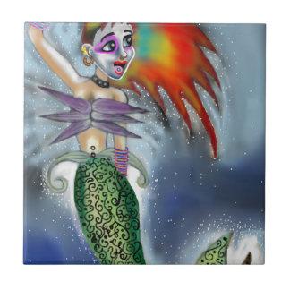 Punk goes the Mermaid Tile