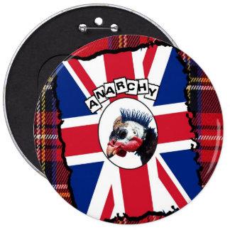 Punk guineafowl pins
