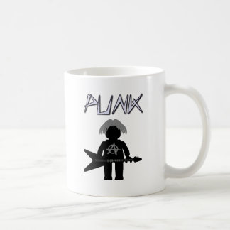 Punk Guitarist Minifig Mugs