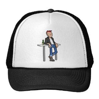 Punk Mesh Hats