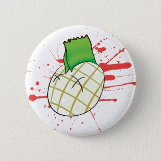 punk head 6 cm round badge
