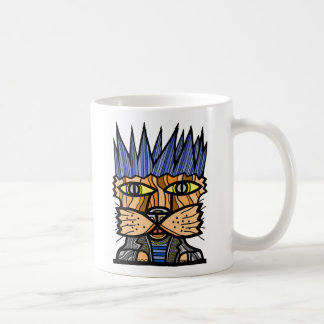"""Punk Kat"" 11 oz Classic Mug"