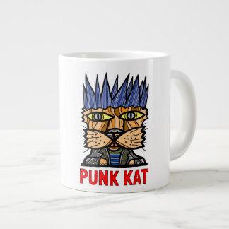 """Punk Kat"" Jumbo Mug"
