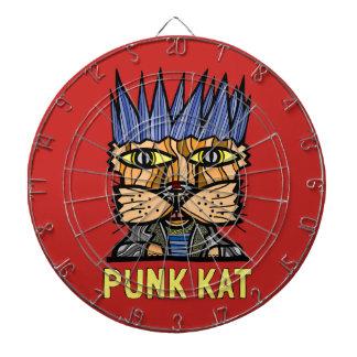 """""""Punk Kat"""" Metal Cage Dartboard"""
