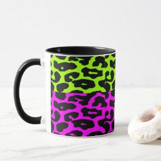 Punk Leopard Coffee Mug
