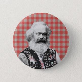 Punk Marx 6 Cm Round Badge
