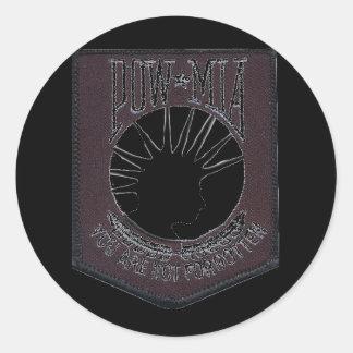 Punk-MIA-II Round Sticker