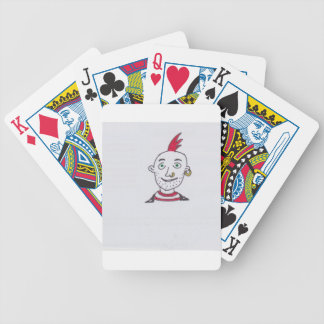 PUNK PIC 1 001 BICYCLE PLAYING CARDS
