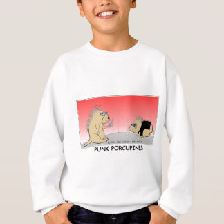 Punk Porcupines Funny Gifts Tees & Collectibles