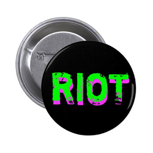Punk Riot 6 Cm Round Badge