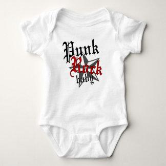 Punk Rock Baby Baby Bodysuit