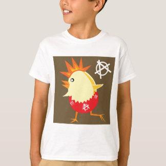 Punk Rock Chicken Tshirt