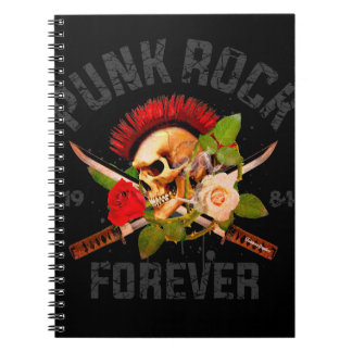 Punk rock forever notebook