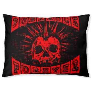 punk rock forever pet bed