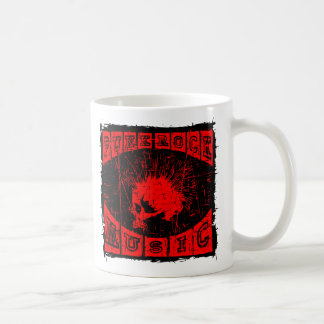 punk rock music coffee mug