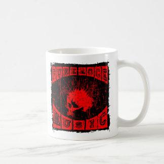 punk rock music coffee mug