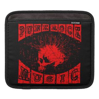 punk rock music iPad sleeve