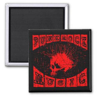punk rock music magnet