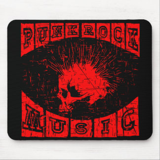 punk rock music mouse pad
