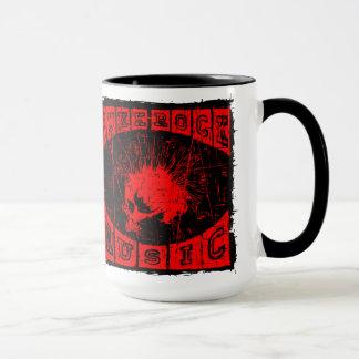 punk rock music mug