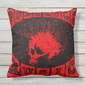 punk rock music outdoor cushion
