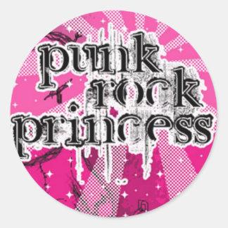 Punk Rock Princess Sticker