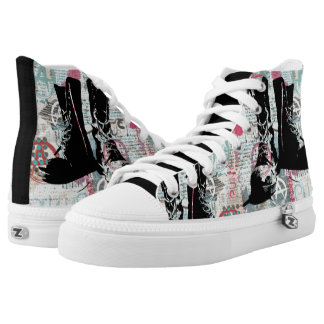 Punk Rock Printed Shoes