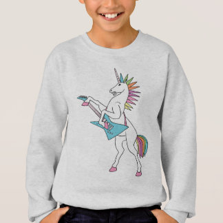 punk-rock-unicorn-playing-guitar-shirt sweatshirt