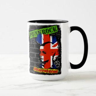 Punk rock - union jack Mohawk Mug