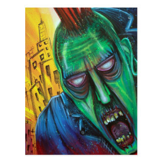 Punk Rock Zombie Postcards