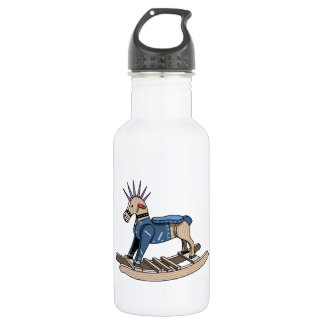 Punk Rocking Horse 532 Ml Water Bottle