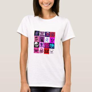 punk skulls T-Shirt