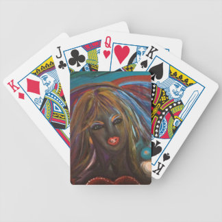 Punk Temptress Bicycle Playing Cards