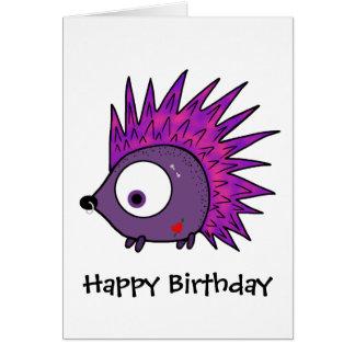 Punk the Hedgehog Card