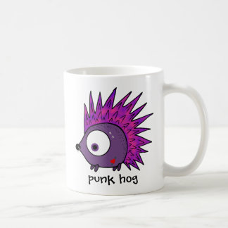 Punk the Hedgehog Coffee Mug