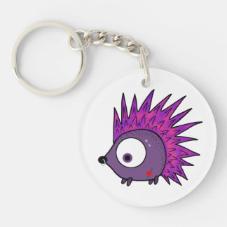 Punk the Hedgehog Key Ring