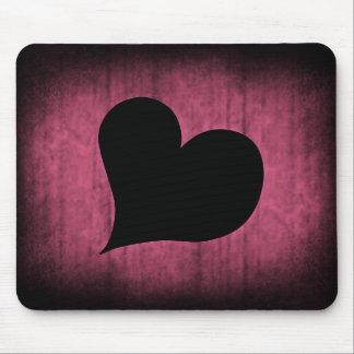 Punk Valentine heart Mouse Pad