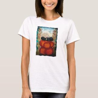 Punkin Pile - Pumpkins, Witch, Moon, Halloween T-Shirt