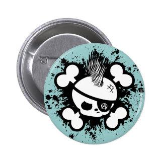 Punkin Pirate Pinback Button